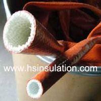 Firesleeve,Silicone Coated Fibreglass Sleeve