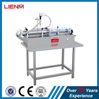 Single Head Horizontal Manual Cosmetic Herb Oil Filling Machine