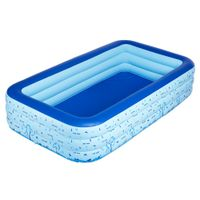 Rectangular 3-ring Family Pool, OEM orders are Available thumbnail image