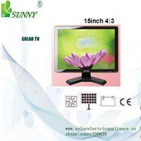 "15"" 17"" 19"" 21"" 23"" SOLAR POWERED LED&LCD  TV"