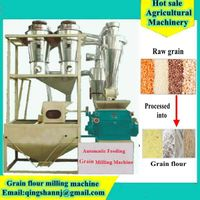 Grain Flour Mill Machine Mini Type Flour Mill