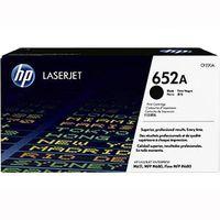 Original and New HP CF320A LASERJET 652A TONER CARTRIDGE - BLACK