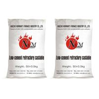 Low cement refractory castable