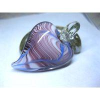 Colorful Zebra Murano Art Glass Necklace Pendant 2102