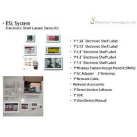 Zhsunyco Smart Tag Electronic Shelf Label Demo Kit