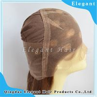 New fashion highlight color hair full lace wig with stretch lace in middle