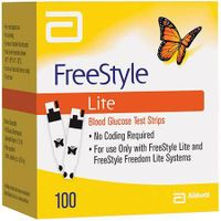 FreeStyle Lite Test Strips 100ct