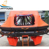 Davit launched Inflatable Sea Air Life raft
