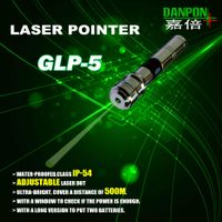 Green laser pointer for climbing mountains golf field