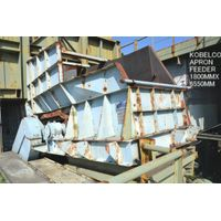 """USED """"KOBELCO"""" HEAVY DUTY TYPE AFH (APRON FEEDER) 1800MM X 6550MM S/NO. 14-0687 WITH INVERTER MOTOR thumbnail image"""
