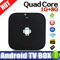 Cheap quad core Allwinner A31s android tv box 3D google tv box mini black tv box full hd bluetooth a