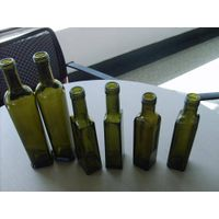 Olive oil glass bottle, sesame oil glass bottle, safflower oil bottles