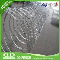 China manufacturer concertina razor wire