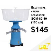 Electrical cream separator SCM-80-19 (100 l/h)