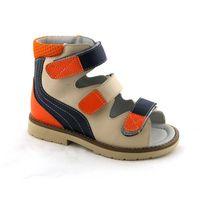 Kids Orthopedic Anti-varus Thomas Heel Leather Footwear 4811357