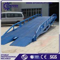 Popular manual mobile container forklift dock ramp thumbnail image