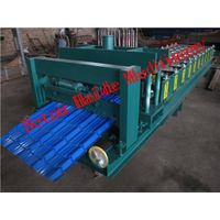 Haide 840 Glazed tile roll forming machine