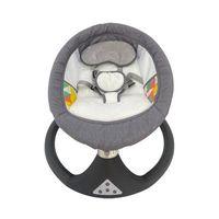 Ajustable Backrest Baby Swing Bed Safety Seat Belt Infant Cradles and Bassinet thumbnail image