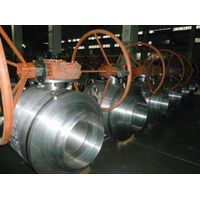API6D FIRE PROOF TRUNNION MOUNTED BALL VALVE