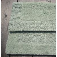 100% COTTON HEAVY WEIGHT REVERSIBLE BATH MAT