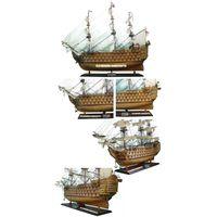 HMS Victory inlay hull