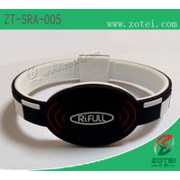 RFID silicone wristband tag(ZT-SRA-005)