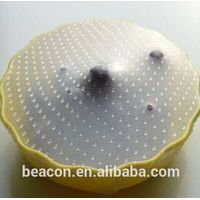 BPA free Eco-friendly silicone food wrap film stretch film to keep foods fresh thumbnail image