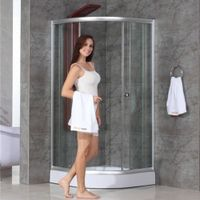 cheap sliding glass shower enclosure