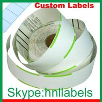 Custom Thermal Baggage Tags for Airlines
