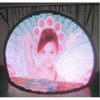 flexible led video curtain display-18mm