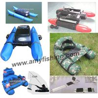 fishing float tube, bait boat, jabo remote control bait boat thumbnail image