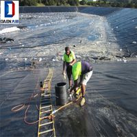 2mm Eco-Friendly Leakproof HDPE Smooth Geomembrane Landfill Liner