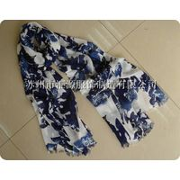 100% viscose scarf / print fashion scarf shawls