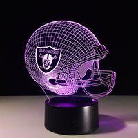 Hot sale creative LED night light 3D illusion LED light wholesales,kryplasticcraft.com thumbnail image