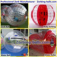 WaterRollers ZorbRamp Water Roller Ball Inflatable Wheel Water Walker Bubble Zorb Rolling Ball thumbnail image