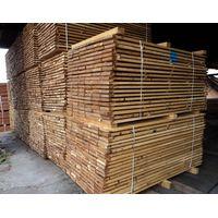 White oak square-edged timber