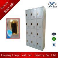 keyless Grey IC card electronic lock 9 door steel locker