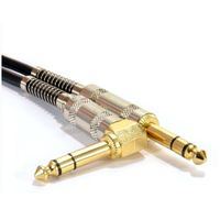 Speaker Cable, Microphone Cable, 6.35mm 1/4 Inch Plugs Cable Lead