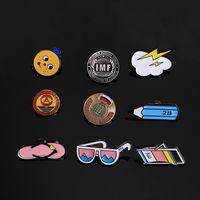 Clothing Tinplate Badge