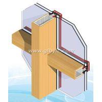 aluminum wood curtain wal thumbnail image