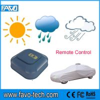 fashion design electrical remote control automatic car cover