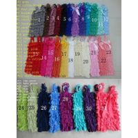 Lace ruffle petti tops for baby girls toddler thumbnail image