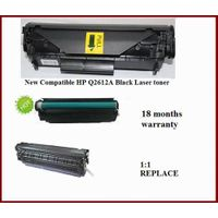 Compatible New 2612 Q2612A  HP12A Black Laser toner Cartridge for HP HP1010,1012,1015,1018 laser