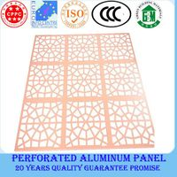 2014 new style aluminum lightweight ceiling
