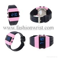 fashion Water-Resistant LED Watch with Date thumbnail image