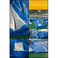 Blue White Tarpaulin - Korea Standard - Made in Vietnam