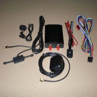 GPS tracker with GSM/GPRS system with more I/O ports