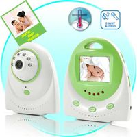 Baby Sleep Music Lullabies 2.4'' Full Color LCD Baby Monitor Digital Baby Guardian