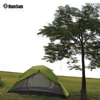 RunSun best person buy 3 man tent ice fishing festival