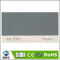 RAL7000 squirrel grey color high glossy hybird powder coating